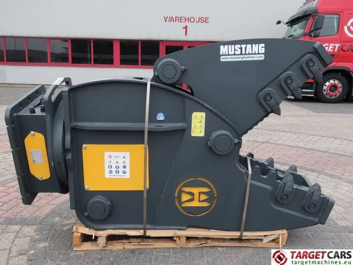 Mustang Hammer RHP2000 Rot Crushing PulverizerShear 15~22T