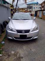 One year used lexus is250 09 tincan cleared