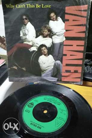 Van Halen - Why Can't this be love /get up - Vinyl/record