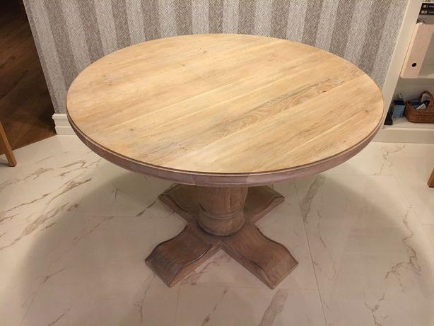 Niesamowite Piękny okrągły stół dębowy KLASYK Rewal • OLX.pl EU19