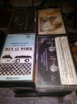 4 track tapes for sale.