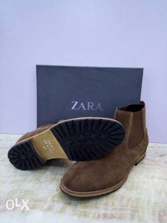 New Brown Zara Chelsea boot for men Lagos - image 1