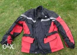 Motorcycle Red Armoured Jacket