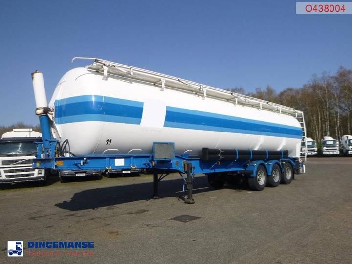 Crane Fruehauf  Bulk tank alu 62 m3 (tipping) - 1999