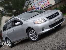 Toyota Fielder silver colour excellent condition 2010 model