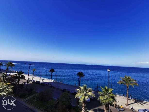Full Sea View Apartment For Rent in Ain l Mrayse