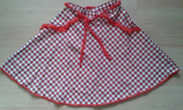 dfee9159 Spódniczka, spódnica 128/134 Bal przebierańców strój czerwonego ...