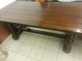 Coricraft Dinning table 210cm by 100cm for sale