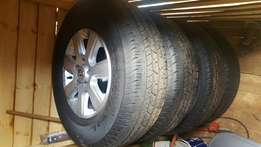 Excellent condition Amarok mag wheels/mags