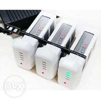 Drone phantom 2 and 3 battery multi charger