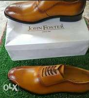Brand New Brown John Foster Shoe