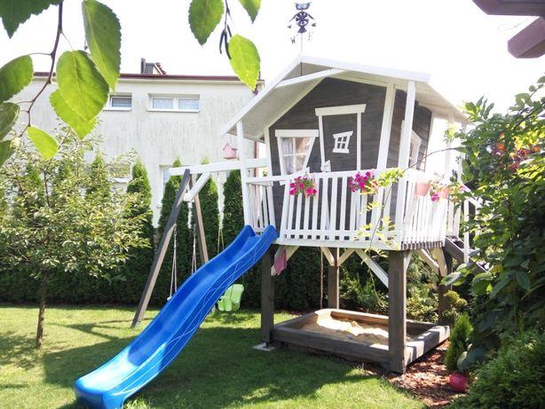 Świeże Cudowny domek dla dziecka Plac zabaw zjeżdżalnia, piaskownica FX96