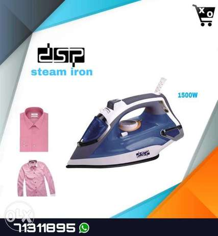 steam iron dsp 1$ (2,000) L.L
