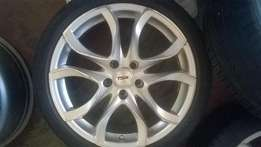 Now selling at R 6000 18'' 5X112 PCD ,Audi,Mercedes Benz,Golfs etcetc