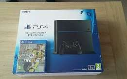 black ps4 brand new