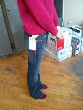 Нові джинси-кльош  70 грн. - Жіночий одяг Львів на Olx cc7b0160eb35b