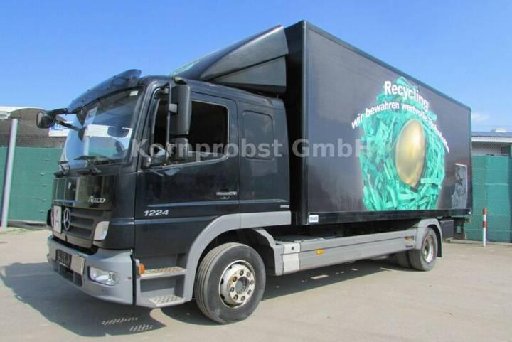 Mercedes-Benz 1224 L 4x2 BL - Koffer 6,15 LBW - Nr.: 541 - 2010