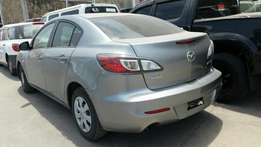 Mazda axala brand new car