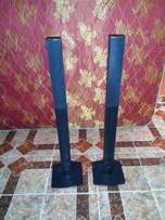 2 LG tall boy speakers for sell