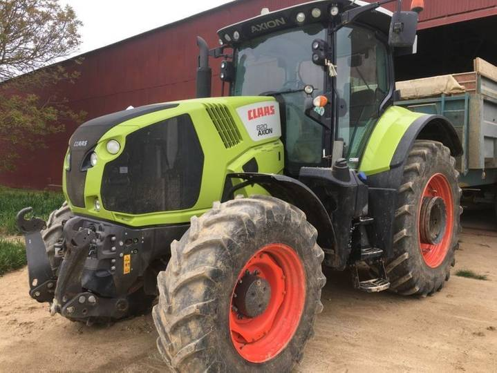 Claas axion 820 t4f cebis - 2015