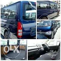 Toyota Hiace Chopper Hire purchase Finance available