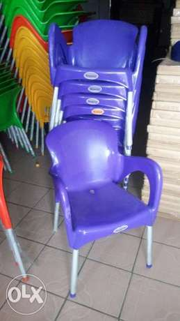 This is a brand new plastic restaurant chair Lekki - image 1