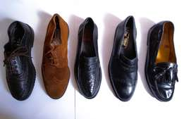 Original quality Leather and suede shoe