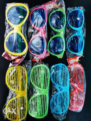 Party shutter eyeglasses and sunglasses