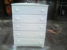 Wardrobes and chestdrawers