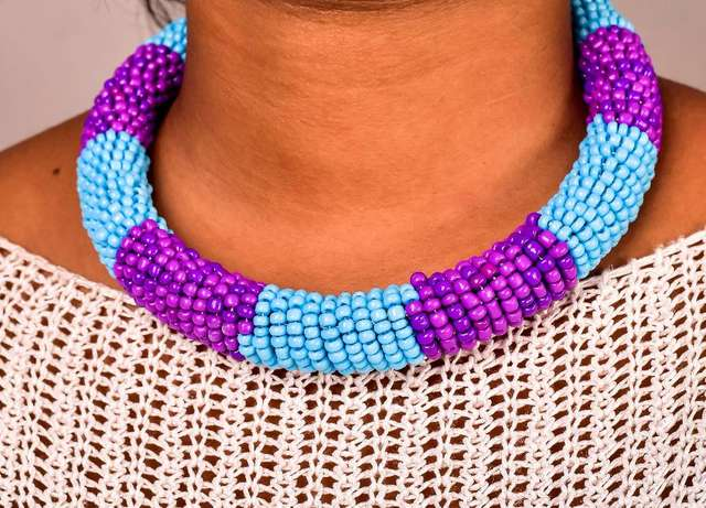 Beaded Rope Necklace at Wholesale Price City Centre - image 6