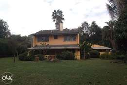 4 bedroom house on 1 acre for rent in Runda