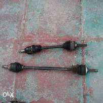 toyota 2E left and right shaft