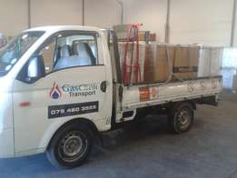 DELIVERY & REMOVAL SERVICE-Hyundai H100 bakkie and driver