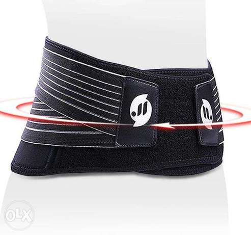 The Spine Belt Is Elastic And Thermal For Back And Spine Pain / حزام ا