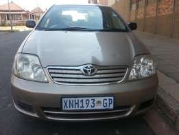 2007 Toyota Corolla 160i in Good Conditions