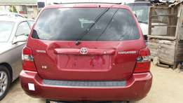 Very Clean Toks Toyota Highlander 3Rolls/ 2006