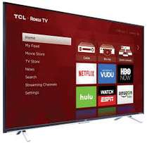 new brand 65 inch inch tcl smart tv with inbult apps,youtube,google cb