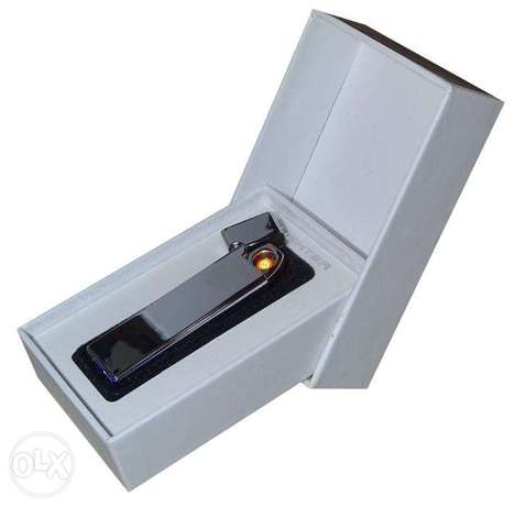 Brand New Silver Electric Rechargeable Lighter