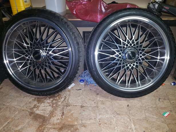 Eagle Mags and new tyres 17 inch Kolonade - image 2