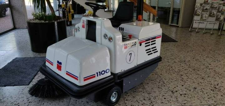 Dulevo kehrmaschine - 2019