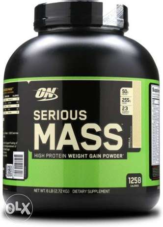 FREE HOME DELIVERY serious mass mass gainer protein supplement for gym