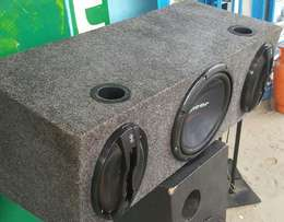 Pioneer with two midranges sony