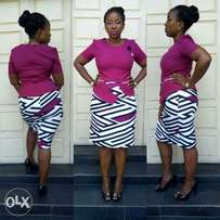Cooperate Turkey Skirt and blouse