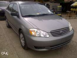 Clean 2004 corolla for sale