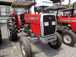 75 horse Power MF 375 Farm Tractor, UK Perkins Engine 3 disc, warranty