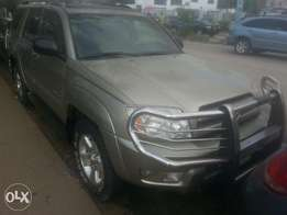 Few months used toyota 4runner 2005 fuloption tincan cleared