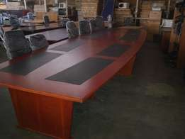 20 seater cherrywood Boardroom table