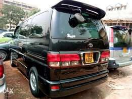 Regius hiace petrol modal 2001 on sale