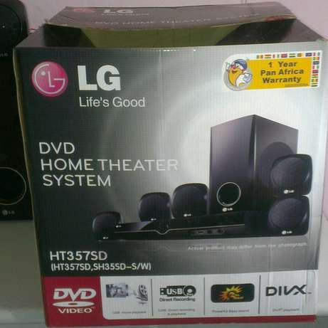 LG HT357SD 5.1 DVD Home Theatre System Lower Kabete - image 5