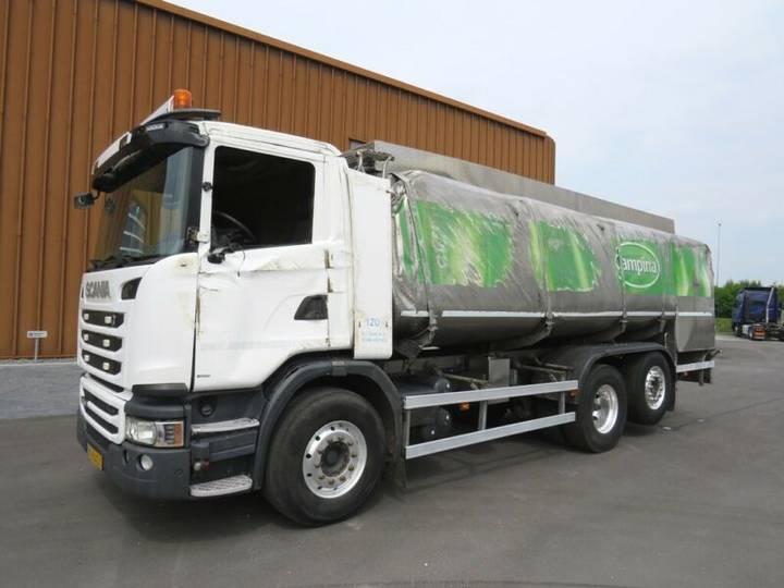 Scania G 450 Euro 6 Milchtransport/RMO mit retarder!!!! - 2013